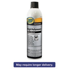 Zep Professional High Performance Mist Adhesive, 20 oz, Aerosol, 12/Carton by Zep Professional