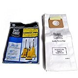 Genuine Carpet Pro Heavy Duty & Standard Upright Bags 3 PK #