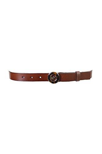 Michael Kors Brown Belt (MICHAEL Michael Kors Belt With Tortoise Plaque Luggage)