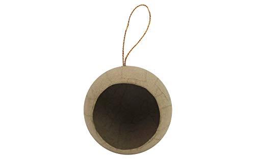 Craft Ped Paper CPL1001163 Mache Ornament 1/2 Ball Open - Mache Papier Ball Ornament