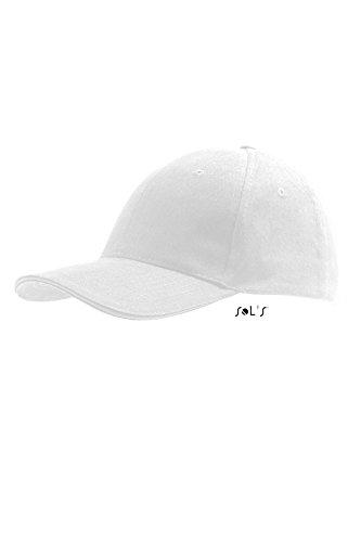 Sols - Buffalo - 6 Panel Baseballcap , White , UNIQUE one size,White
