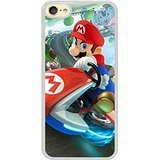 Generic iPod 6 Case,iPod 6 Cover,mario kart 8 arcade racing Slim Case for iPod Touch 6(White)