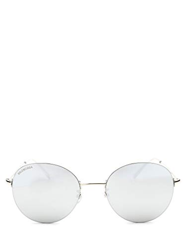 Luxury Fashion | Balenciaga Womens BB0016SK002 Silver Sunglasses | Season Permanent