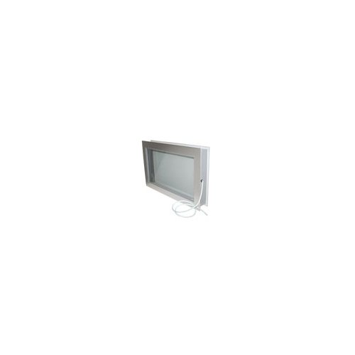 Aluminum Clad PVC 14'' x 24'' Viewport Window | Heated | 4'' Wall Thickness