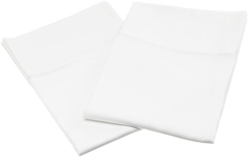 Home Source Bamboo (Home Source International 100% Rayon from Bamboo Pillowcase Pair King White)