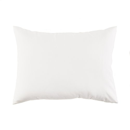 Little Dreamers Toddler Pillow with Case, White