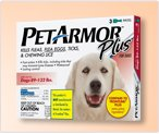 PetArmor Plus for Dogs 89 – 132 lbs 3 Dose Box, My Pet Supplies