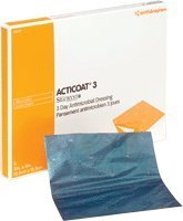 5420301BX - ACTICOAT Antimicrobial Barrier Burn Dressing with Nanocrystalline Silver 8 x 16 by Smith Nephew