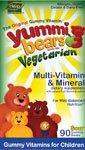 (Hero Nutritional Products - Yummi Bears Multi-Vitamin (Vegetarian) - 60 chewable tablets)