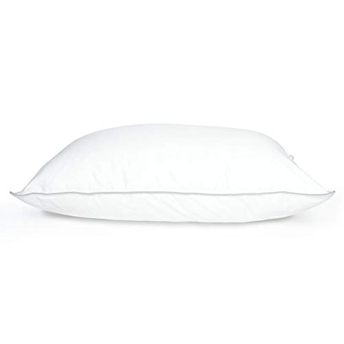 DOWNLITE Holiday Sale - Cluster Puff Polyester Bed Pillow Used by Many Hotel Properties Pillow Size: Queen