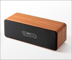 サンワダイレクト Bluetoothスピーカー iPhone スマートフォン iPad タブレットPC 対応 スピーカー 木目柄・ブラウン 400-SP033BR