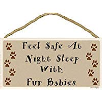 Cheyan Feel Safe At Night Sleep - Cartel de Madera para ...