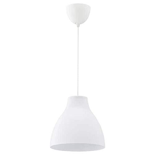 IKEA MELODI Lampara de techo blanco