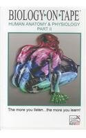 Biology-on-Tape: Human Anatomy & Physiology: Part 2 (Two Audiocassettes) by David G. Gantt (1997-01-02)