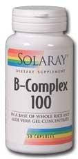 B-Complex 100 Solaray 100 VCaps