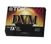 TDK Minidv Tapes, 60 Minute (8-Pack) by TDK