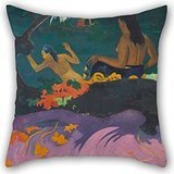 Elegancebeauty Pillowcover Of Oil Painting Paul Gauguin - Fatata Te Miti (By The Sea) 16 X 16 Inches / 40 By 40 Cm,best Fit For Chair,son,couch,sofa,home Theater,gril Friend Each Side