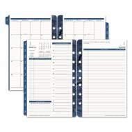 FranklinCovey Monticello Dated Two-Page-per-Day Planner Refill, 5 1/2 x 8 1/2, ()