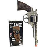 Big Game Toys~Billy The Kid Pistol Cowboy Holster Outlaw Costume Boy Child Toy Cap Gun Spain