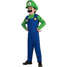 Deluxe Mario and Luigi Costume - (Deluxe Toddler Mario Costumes)