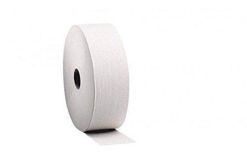 Van Houtum Toilettenpapier Satino Comfort 6 Rollen | 2-lagiges Klopapier | Jumbo WC Papier, Klopapierrolle, Toilettenpapierrolle für Rollenständer & Halter
