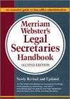 Merriam-Webster's Legal Secretaries Handbook