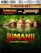 Jumanji / Jumanji: Welcome to the Jungle: 2-Movie Collection (Limited Edition Steelbook) [4K Ultra HD + Blu-ray + Digital HD]