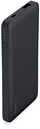 Belkin Pocket Power 5,000mAh Durable Ultra Slim Portable Charger / Power Bank / Battery Pack (Black)