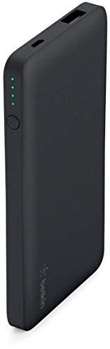 Belkin Pocket Power 5,000mAh Durable Ultra Slim Portable Charger/Power Bank/Battery Pack (Black) by Belkin