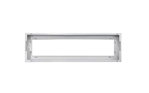 ASD 1x4 FT Edge-Lit Flat Panel LED White Surface Mounting Frame Kit