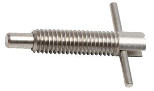 1/2''-13 Dia x 2.000''L 2.5lb-5lb Force S/S T-Handle Retractable Plunger
