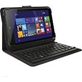 HP T800 Bluetooth Keyboard Tablet Stand Case (Black) (Hp Stream 7 Tablet Case Keyboard)