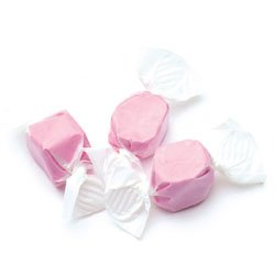 Sweets Salt Water Taffy, Pink Strawberry, 3 Pound ()