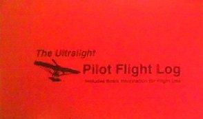 - The Ultralight Pilot Flight Log