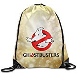 SAXON Unisex Lovely Ghostbusters Drawstring Backpack]()
