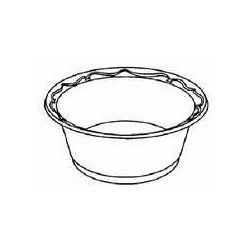 Genpak LAM21-3L 12-Ounce Capacity Black Color Elite Foam Laminated Bowl  125-Pack (Case of 8) ()