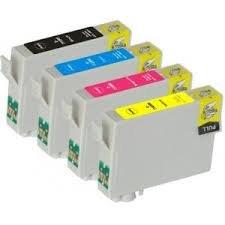 Pack de 4 cartuchos tinta de alta calidad tipo EPSON T0895, negro ...