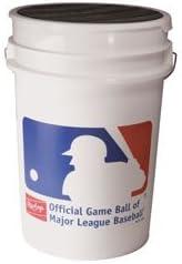 Rawlings ROLB1X Practice Baseball Balls in Bucket Three Dozen Balls