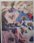 Bears & Bunnies Cross Stitch Patterns by Leisure Arts Leafle