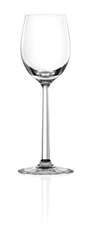 Lucaris Shanghai Soul Liquor Glass, 2.7-Ounce, Set of 4 - Lancaster Colony Clear Glass
