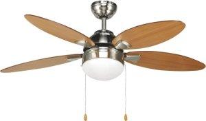Plafoniere Con Pale : Agitatore ventilatore da soffitto con pale in legno noce scuro