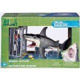 Shark Attack Figure Playset By Animal Planet (Electric Animals Sea)
