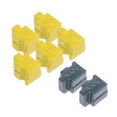 016-1607-00 Premium Compatible Color Sticks, Box of 7, 5 yellow & 2 black