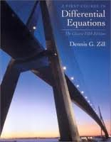 Download A First Course in Differential Equations: The Classic Fifth Edition 5th (fifth) Edition by Zill, Dennis G. [2000] pdf