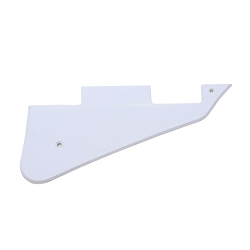 (Musiclily Electric Guitar Pickguard for Gibson Les Paul Modern Style Guitar Parts, 1Ply)
