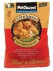 PetGuard Life Span Chicken Flavor Dry Dog Food, 36-Pounds Review