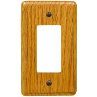 Jackson Deerfield 917L Contemporary Light Oak Rocker/GFI Wall Plate