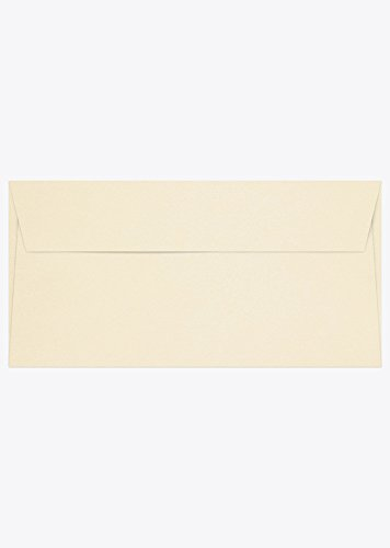 Pack 50 Conqueror Envelopes Wallet Peel and Seal Ultra Smooth Cream DL