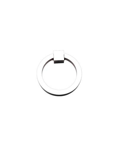 (Ring Pull 3″ Round Brass CH - Chrome)