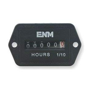 (Hour Meter, Electrical, Back Rectangular)